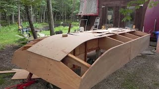 "Build A Cheap ""tiny House""...boat, Dianne's Rose"