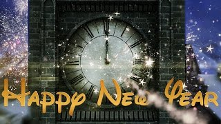 Happy New Year Clock 2016 ( v 497 ) Countdown Timer with Sound Effects HD 4k!