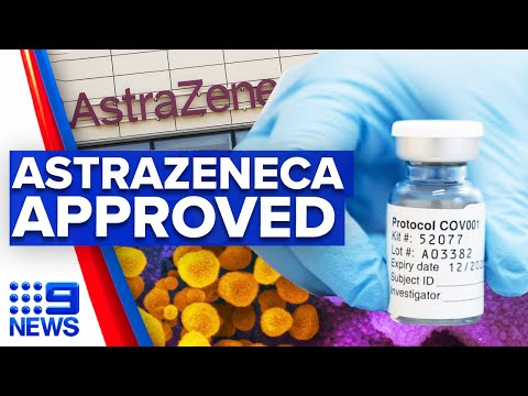 Coronavirus: Oxford Astrazeneca vaccine approved in UK | 9 News Australia thumbnail