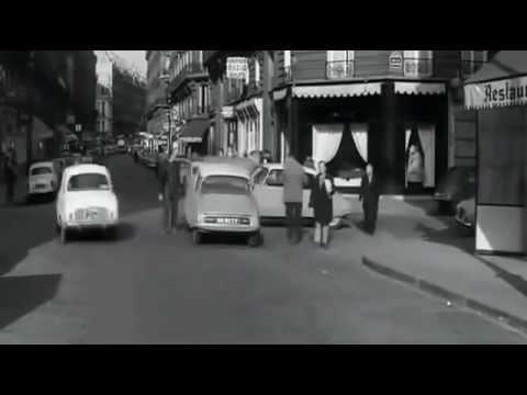 la circulation dans paris vers 1965 youtube. Black Bedroom Furniture Sets. Home Design Ideas