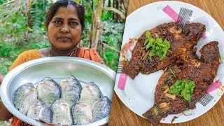 Village Cooking | S1E7 - Tilapia Fish Fry with Tamarind Juice Recipe by Village Food Life
