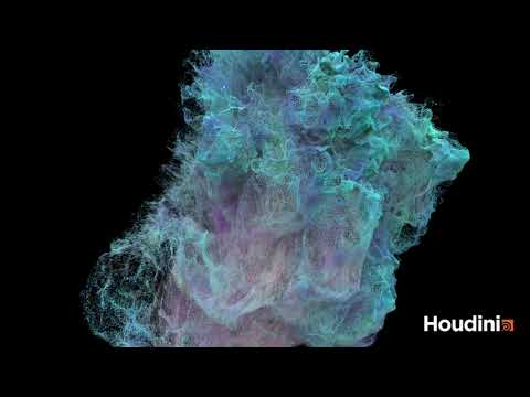 Houdini particles practice