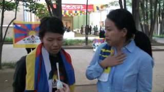 2009年9月18日聖地チベット展プレス内覧会「チベット人は存在しない」