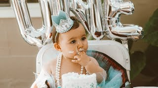 Annabelle's 1st Birthday Party! | Winter ONEderland Theme! | Hayley Paige