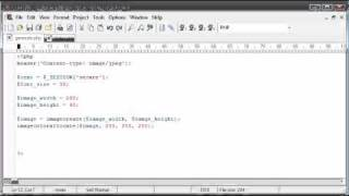 Beginner PHP Tutorial - 165 - Creating Captcha Image Security Part 2