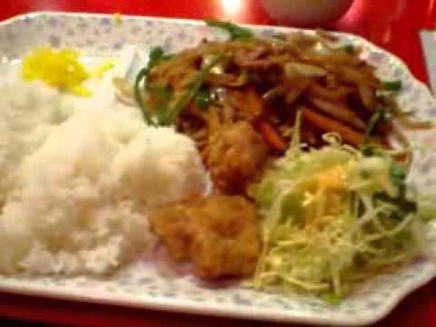 大阪梅田激安ランチ金明飯店 2号店5$Chinese Lunch in Osaka JAPAN