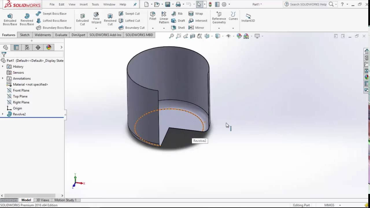 Tank design using design table excel solidworks tutorial for Design table not working solidworks