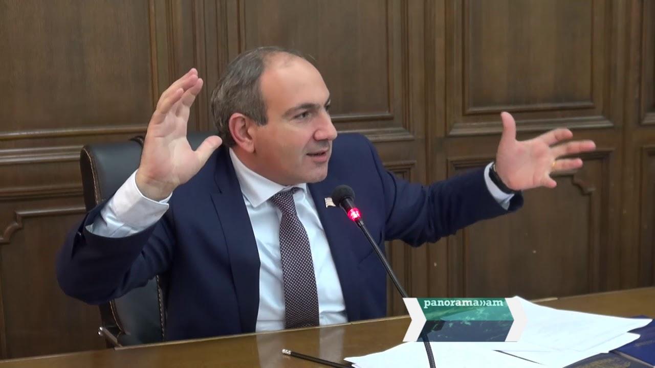 """""""Baş nazir olmağa hazıram""""- Nikol Paşinyan"""