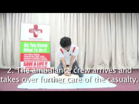 CPR & AED Video   Singapore Emergency Responder Academy, First Aid And CPR Training
