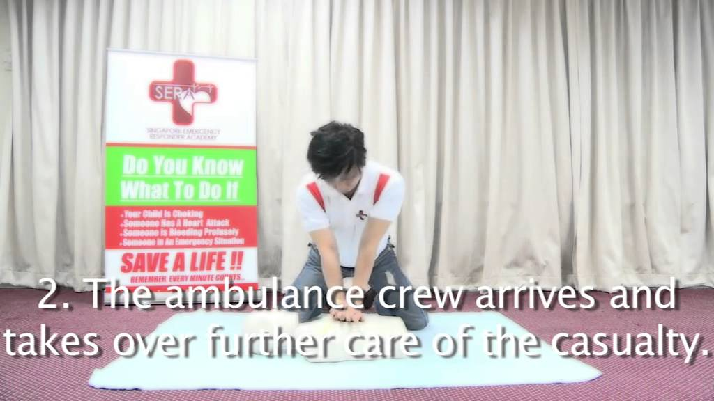 Cpr Aed Video Singapore Emergency Responder Academy First Aid