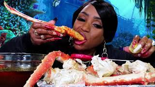 Seafood Boil 19 Huge King Crab Legs, Lobster, and Tiger Shrimp