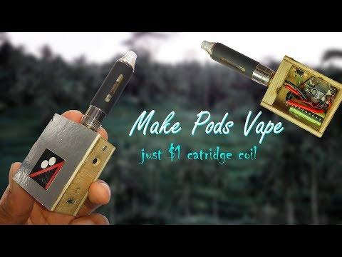 HOW TO MAKE PODS VAPE! || Cara Buat Pods Vape! (MTL Vape)