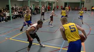 24 november 2017 Bouncers M22 vs Rivertrotters M22 69-62 2nd period