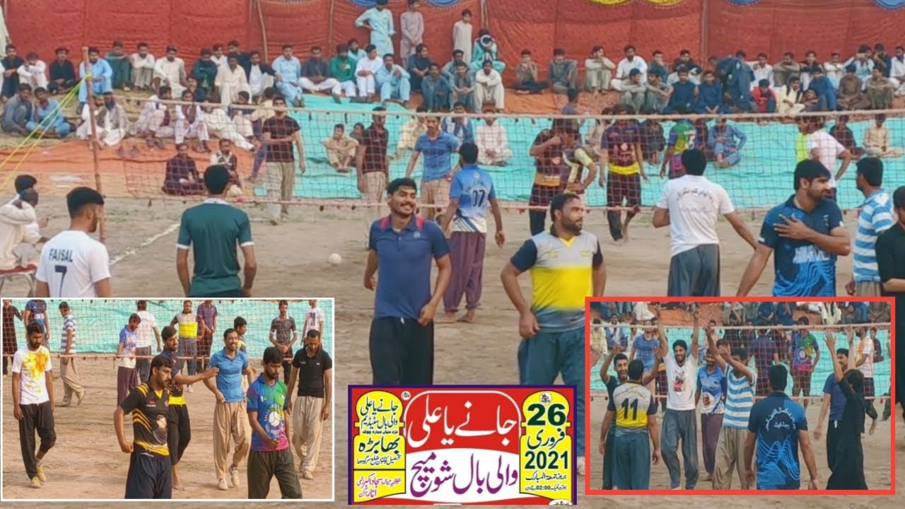 Download Akhtar Baloch, Kamala Gujjar 🆚 Samoot Club New Shooting Volleyball Match 26-2-2021| New Volleyball |