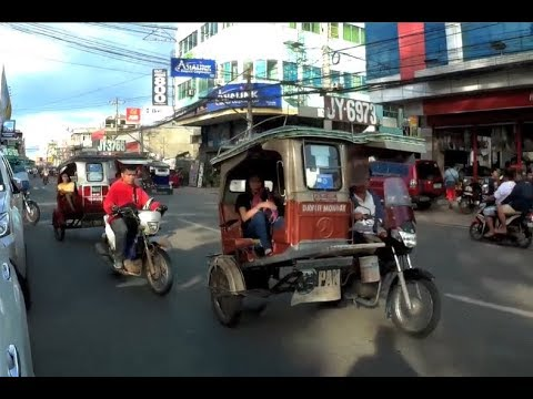 Philippines LIVE - Windy Morning Walk Cebu City