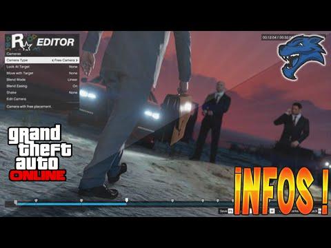 Images Mode Directeur Rockstar & Mode Editor ! Impressionnant | GTA V Infos