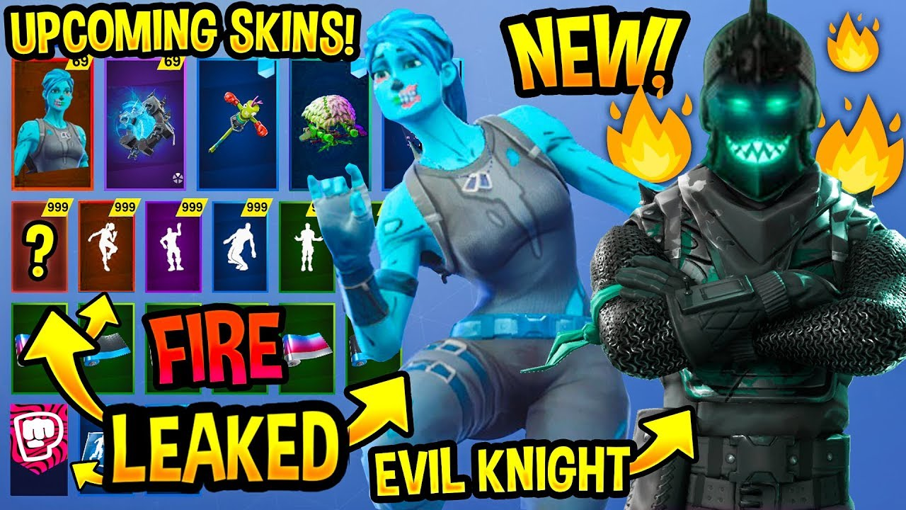 new 100 upcoming fortnite skins concepts evil knight frozen skins season 8 youtube. Black Bedroom Furniture Sets. Home Design Ideas