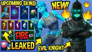 *NEW* 100 Upcoming Fortnite Skins..! *CONCEPTS* (Evil Knight, Frozen Skins, Season 8..)