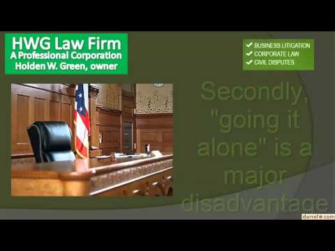 Civil Business Attorney Holden W  Green Esq    San Jose, Sunnyvale and San Francisco