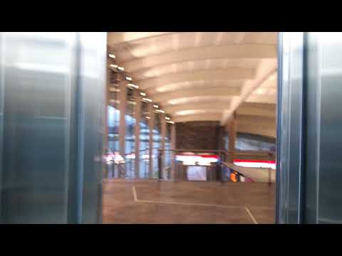 Brand new! Kone traction elevators/lifts in Koivusaari metro station, Helsinki