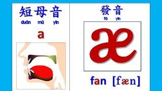 abc音標發音 - A的短母音 (KK Phonics - Short Vowel pronunciation for letter A) thumbnail