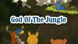 God Of The Jungle  | Panchatantra Tales | English Animated Stories For Kids