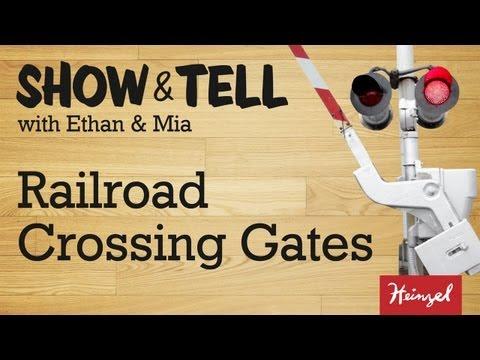 Show & Tell #3 - Railroad Crossing Gates