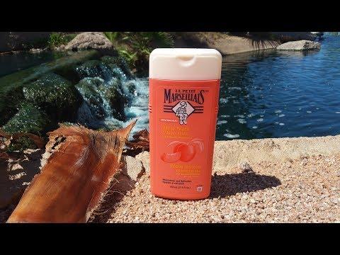 Le Petit marseillais white peach & nectarine body gel