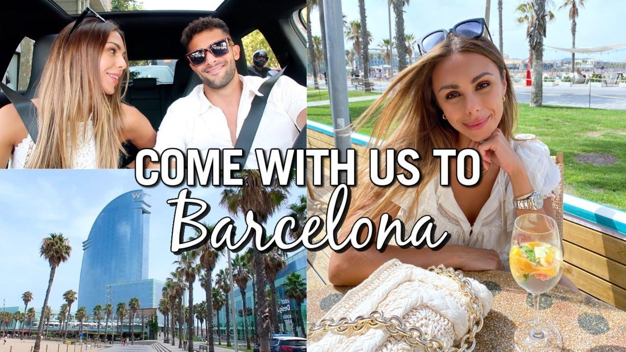 BARCELONA VLOG | Wellness Routines, Shopping & Barcelona Favorites | Annie Jaffrey