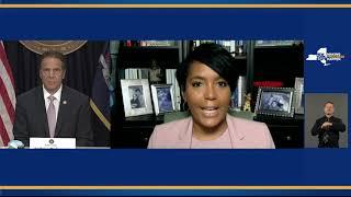 Governor Cuomo Speaks with Atlanta Mayor Keisha Lance Bottoms