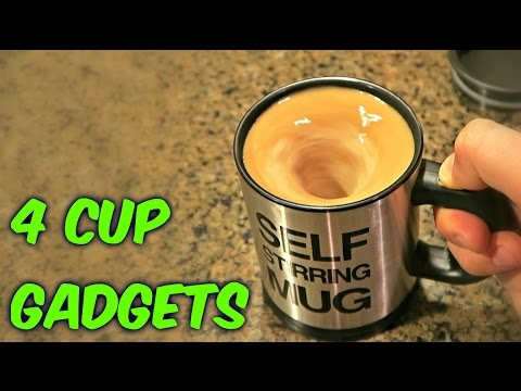 4 Cup Gadgets Test