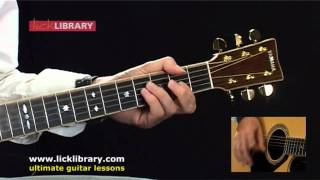 jack johnson upside down acoustic guitar lesson with michael casswell licklibrary