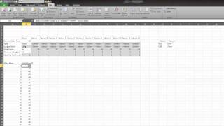 Finance with Excel: Options Graph