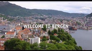 This is Bergen, Norway!