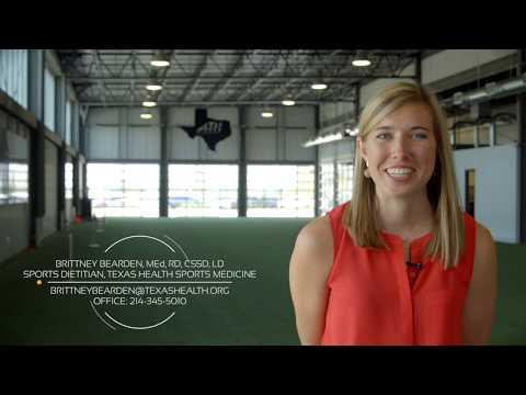 Sports Nutrition: Introducing Brittney Bearden with Texas Health Sports Medicine