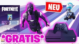 *NEW* SO you get a FREE Xbox One S SKIN! 😱 (this is how it works)   Fortnite Xbox One S