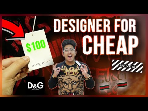 How To Get DESIGNER CLOTHES For CHEAP in Dubai! (Dolce & Gabbana, Givenchy, Off-White)