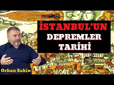 İSTANBUL'UN DEPREMLER TARİHİ
