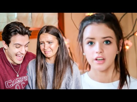 Reacting To My First Youtube Video! (so Cringe!)