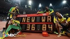 Usain Bolt anchors world record 4x100 relay at 2012 Olympics   NBC Sports