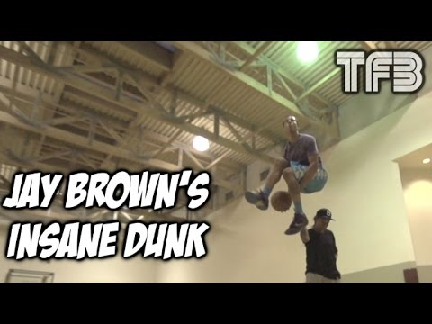 Jay Brown's New Dunk would win ANY DUNK CONTEST | #SCTop10