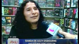 Ozzy Osbourne in Peru