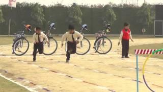a m world school sports day boys under hurdle race
