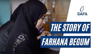 The Story of Farhana Begum   SAFA   NGO   Skill Training   Women Empowerment   Hyderabad