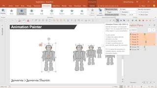 Formatting Tricks Format Painter Animation Painter Advanced PowerPoint Tutorial