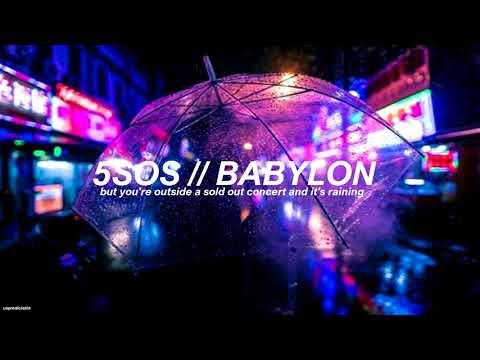 5 Seconds Of Summer Babylon Empty Arena