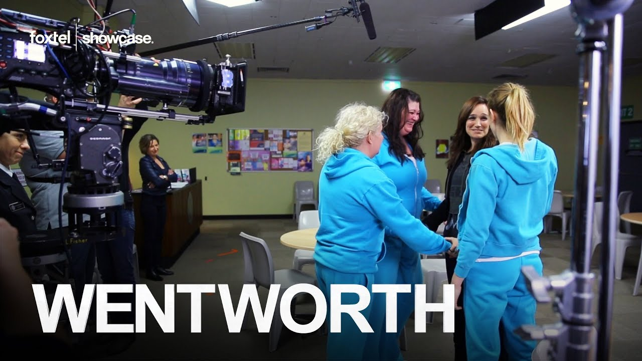 Behind The Scenes Franky Says Goodbye Wentworth Season 6 Episode 3 Foxtel