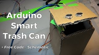 How To Make A Smart Trash Can | Arduino Tutorial - Sci Ranch