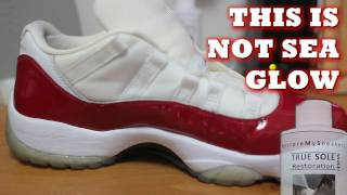 Saucing Icy Soles: This is not sea glow