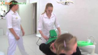 Чистка зубов + AirFlow в клинике «ПРЕЗИДЕНТ» на KUPIBONUS.RU(, 2011-07-20T00:36:39.000Z)